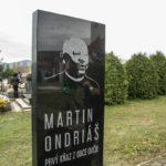 Odhalenie pamätníka Martina Ondriáša