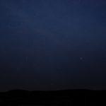 Nočná obloha nad Čiernou horou