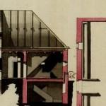 Plán domu z konca 18. storočia