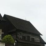 Drevený kostolík v Brežanoch