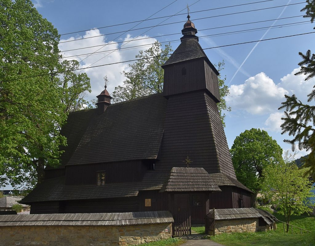 Drevený kostolík v Hervartove