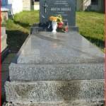 Hrob Martina Ondriáša na cintoríne v Snine