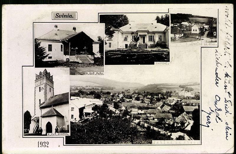 Pohľadnica z roku 1932
